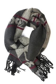Brrrr it's cold in Seattle! This wool blend scarf is perfect for wrapping over your jacket around your face. It's thick enough to stand up to the chilly winds but soft and itchy-free.