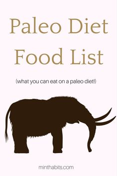 Complete list of paleo diet foods. This is what you can eat on a paleo diet. Paleo Vegan Diet, Paleo Diet Food List, Keto Diet Plan, Diet Foods, What Is Paleo Diet, Ketogenic Diet, Clean Recipes, Paleo Recipes, Clean Foods