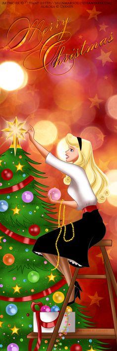 Aurora's Christmas by selinmarsou.deviantart.com on @deviantART
