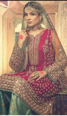 Pakistani designer Salwar Kameez Punjabi dress by SammyFabrics on Etsy