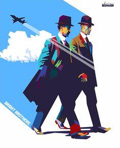 Flying Brothers by vinartvin
