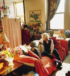 EMINENT BOHEMIANS The spirit of the Bloomsbury Group is alive in a downtown Manhattan loft, where two modern families share one floor, thriving in a creative community of their own making.