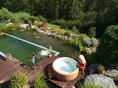 Softub water garden