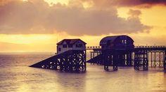 Mumbles, Swansea Bay, South Wales, UK - Trains to Swansea - Great Western Railway British Seaside, British Isles, Wales Uk, South Wales, Swansea Bay, Great Western, Cymru, Rock Pools, Top Destinations