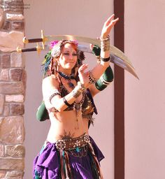 Shunyata Bellydance Texas Renaissance Festival by Rhettwp, via Flickr