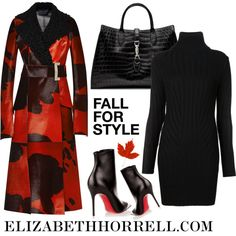 Liz by elizabethhorrell on Polyvore featuring polyvore, fashion, style, Barbara Bui, Proenza Schouler, Christian Louboutin and Gucci