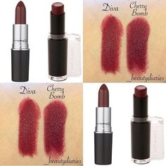 """WetnWild's """"Cherry Bomb"""" ($1.99 at Rite-Aid and drugstores) is a perfect dupe for Mac's """"Diva"""" ($16 at Mac)"""