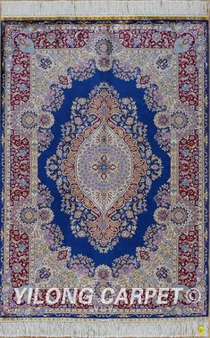 Blue Persian rug Oriental Turkish carpet silk rug Tabriz rugs hereke area rugs  Materials: Silk Style: Traditional Dyeing: vegetable dyeing Technology: Hand Knotted Size: 2'x3' -14'x20'    Fit for: bedroom, living room, dining area, foyer, back door, porch, office etc. … Email: alice@yilongcarpet.com  WhatsApp/Tel/Wechat: +86 156 3892 7921 #tibetsilk #100%rugsilkforsale #chineserugssilk