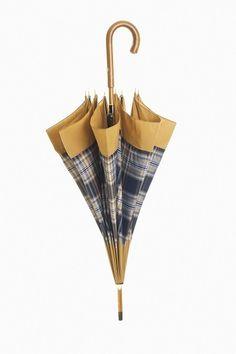 Scottish Tartan Cotton Umbrella  www.theitaliancollection.com