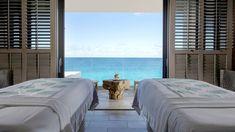 Anguilla Resort Photos & Video | Four Seasons Resort Anguilla Anguilla Resorts, Couples Spa, Bamboo Bar, Caribbean Homes, Spa Design, Seaside Resort, Studio Room, Good Mental Health, Luxury Spa