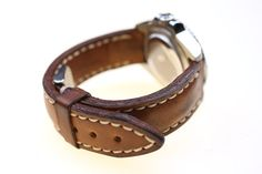 Rolex Milsub leather strap by micael on Etsy