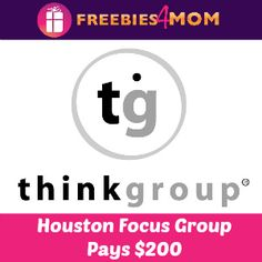 HOUSTON I've got a $200 Focus Group for you to join!  http://freebies4mom.com/focusoct11 Oct 11, 21 or 22  #sponsored