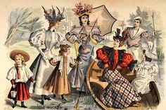 La moda ha cambiado considerablemente a través de los siglos, peinados y maquillaje han sufrido muchas modificaciones, aquí te presentamos desde el S. XIX.