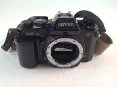 REVUE AC4 SP DX CAMERA SLR BODY 35mm BLACK