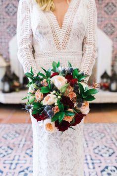 Winter Wedding Bouquet - Harmony Lynn Photography