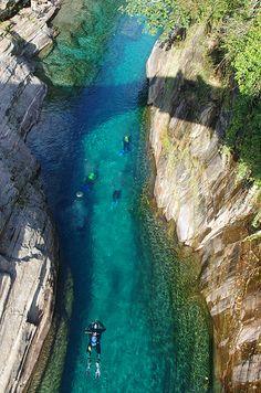 Verzasca River, Switzerland