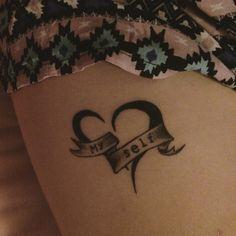 Self love tattoo on pinterest feminist tattoo one word for Self love tattoos