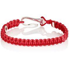 Zadeh Mens Gold & Parachute Cord Bracelet BjMaBeT3eG