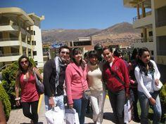 Lucia Berenice  de la Torre de Psicología quien está de intercambio en la Universidad Andina del Cusco.