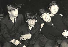 Ringo: Hey! That's my bike! George: Excuse me? Paul: HIIIII I'M HERE TAKE THE PICTURE! John: Paul omg the camera can't see me...