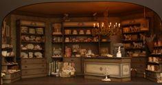 Vintage Winkelkasten serie, Artofmini,com, 1:12, poppenhuis, dollhous, puppenhaus.