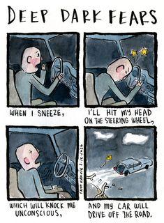 deep-dark-fears Deep Dark Fears, Head S, New Books, Thats Not My, Thankful, Comics, Illustrations, Thoughts, Comic Book