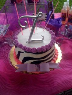 Zion's Fashionista Spa-tastic 5th Birthday PArty | CatchMyParty.com