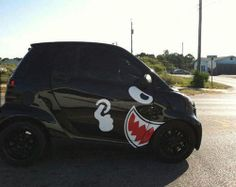 SMART CAR. I So want to do this to someone's smart car!