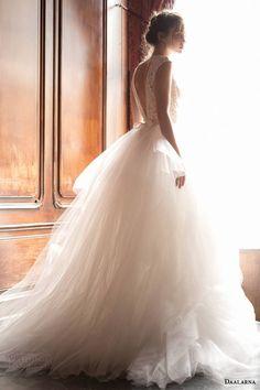 Daalama Couture 2015 Wedding Dress - Pearl Bridal Collection La Mariée en Colère - Galerie d'inspiration, mariée, bride, mariage, wedding, robe mariée, wedding dress, white, blanc, robe de mariée, www.lamarieeencolere.com