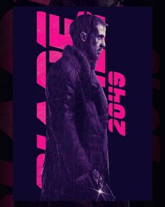 """334 Likes, 8 Comments - Messtonio Panderas (@messypandas) on Instagram: """"Blade Runner 2049 poster. Are you looking forward to Blade Runner 2049? #bladerunner…"""""""