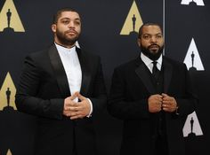 Pin for Later: 21 Celebrity Dads Who Are Nearly Identical to Their Sons Ice Cube and O'Shea Jackson Jr.