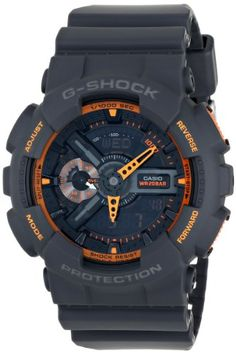 Casio Men's GA-110TS-1A4 G-Shock Analog-Digital Display Quartz Grey Watch - http://www.gadgets-magazine.com/casio-mens-ga-110ts-1a4-g-shock-analog-digital-display-quartz-grey-watch/