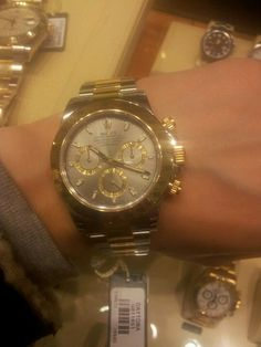 The watch I need: bling and bad taste.