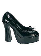 bdf150ecd65 DOLLY-47 Black Patent Heels Mens Platform Shoes