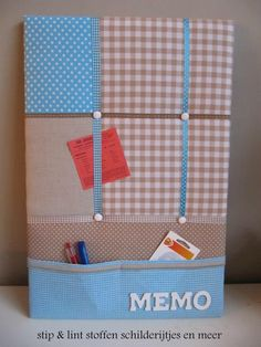 Memoborden | stip & lint French Bulletin Boards, Ribbon Bulletin Boards, Fabric Memo Boards, French Memo Boards, Diy Memo Board, Picture Boards, Pin Boards, Sewing Projects, Projects To Try