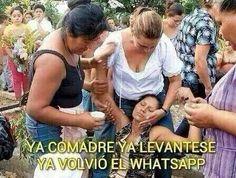 Cuando se va el WhatsApp #Memes #WhatsApp #auxilio