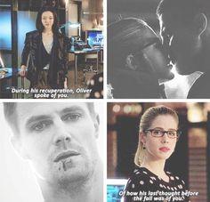 Arrow - Tatsu & Felicity #3.22 #Season3 #Olicity <3