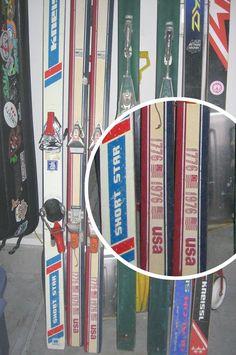 1976 K2 skis - Petersen Collection
