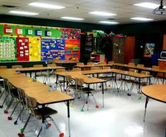 The School Supply Addict: Great ideas for classroom setup. Tons of pictures and visuals of ideas you could use in your classroom to keep the kids on task and interacting!