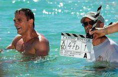 Daniel Craig 007 - on the set of Casino Royale
