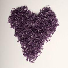 Grape Purple Water Soluble Biodegradable Natural Wedding Confetti www.adamapple.co.uk