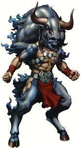 Image result for minotaur samurai