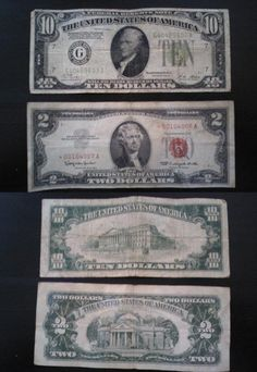 U.S. Bills Through The Ages