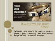Diamond wedding bands neenah by Engagement-Rings via slideshare