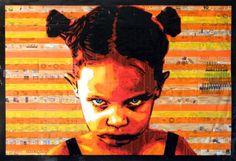tapeart portrait