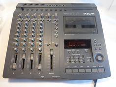 Tascam Portastudio 424mkII 4-Track Cassette Tape Recorder DBX Noise Reduction #Tascam