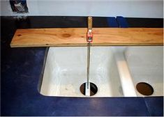 Installing Undermount Sinks Installing an undermount sink might seem like a complicated home improvement project. However, if you know a few tips that the pros use the project won't be that difficult. Undermount sinks are typically installed under solid surface counter tops. The only difference between stone and acrylic counter tops is the way you…