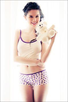 Ngoc Trinh Sexy Underware - Viet Nam Bikini Model - 1000 asian beauties Part 5 Bikini Models, Asian Woman, Asian Beauty, Vietnam, Underwear, Crop Tops, Lady, Cute, Swimwear