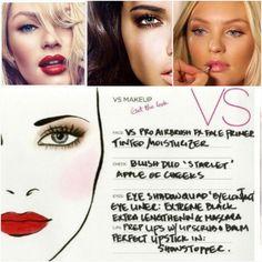 Ангелов Victoria's Secret считают самыми женственными и красивыми моделями. Их успех во многом обеспечивает манящий макияж. Идеальная сияющая кожа, легкая дымка на веках и объемные ресницы! #victoriassecret #секретик #макияж #аэрограф #airbrush #facechart