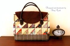 digital sewing pattern, bag pattern, applique, little houses, house, winter, wall decorative, quilt, quilted, bag, handbag pattern, Sewing Pattern, zakka, zakka style, , zakka, zakka style, Japanese, Story Quilt, patchwork,